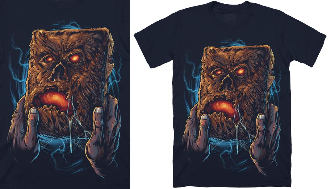 "ccd837e2 The Blot Says...: Evil Dead 2 ""Necronomicon"" T-Shirt by Cavity Colors"