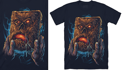 "Evil Dead 2: Dead By Dawn ""Necronomicon"" T-Shirt by Cavity Colors"