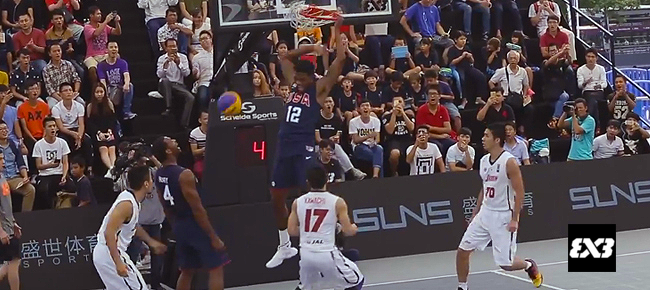 HIGHLIGHTS: USA vs. Japan (VIDEO) 2016 FIBA 3x3 World Championships