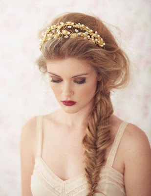 Peinados de novia con trenzas