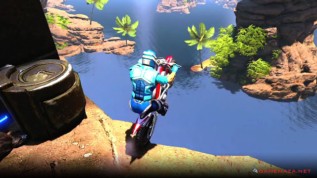 Trials Fusion Welcome to the Abyss Gameplay Screenshot 1