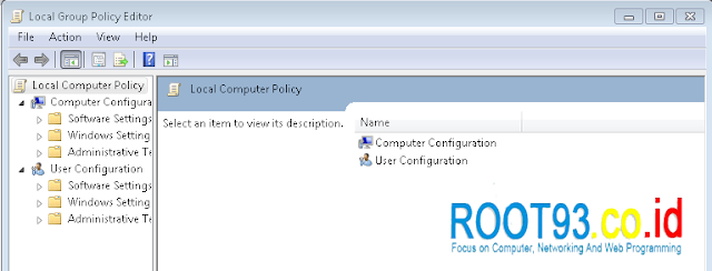 Local Group Policy Editor Windows