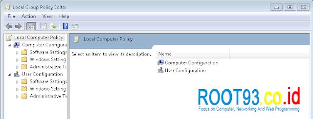 Local Group Policy Editor Windows