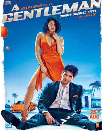 A Gentleman 2017 Hindi 720p HDRip ESubs