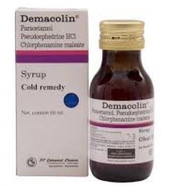 Harga Demacolin syr 60ml Terbaru 2017