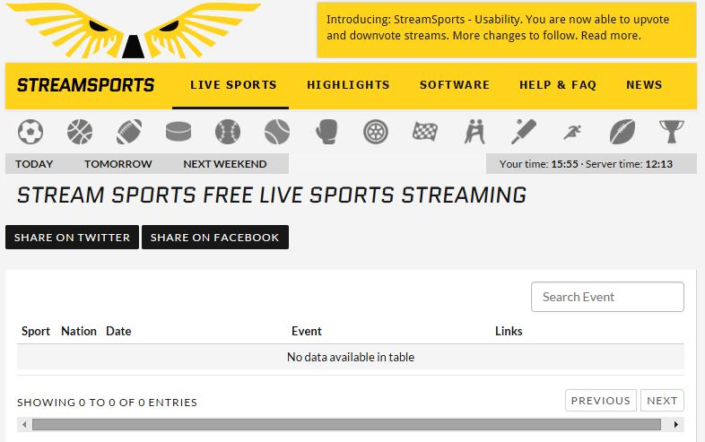 stream sports free