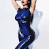 Kylie Jenner poses nude with nothing but blue body paint