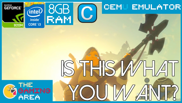 The Legend of Zelda: Breath Of The Wild CEMU 1 15 0 on Low