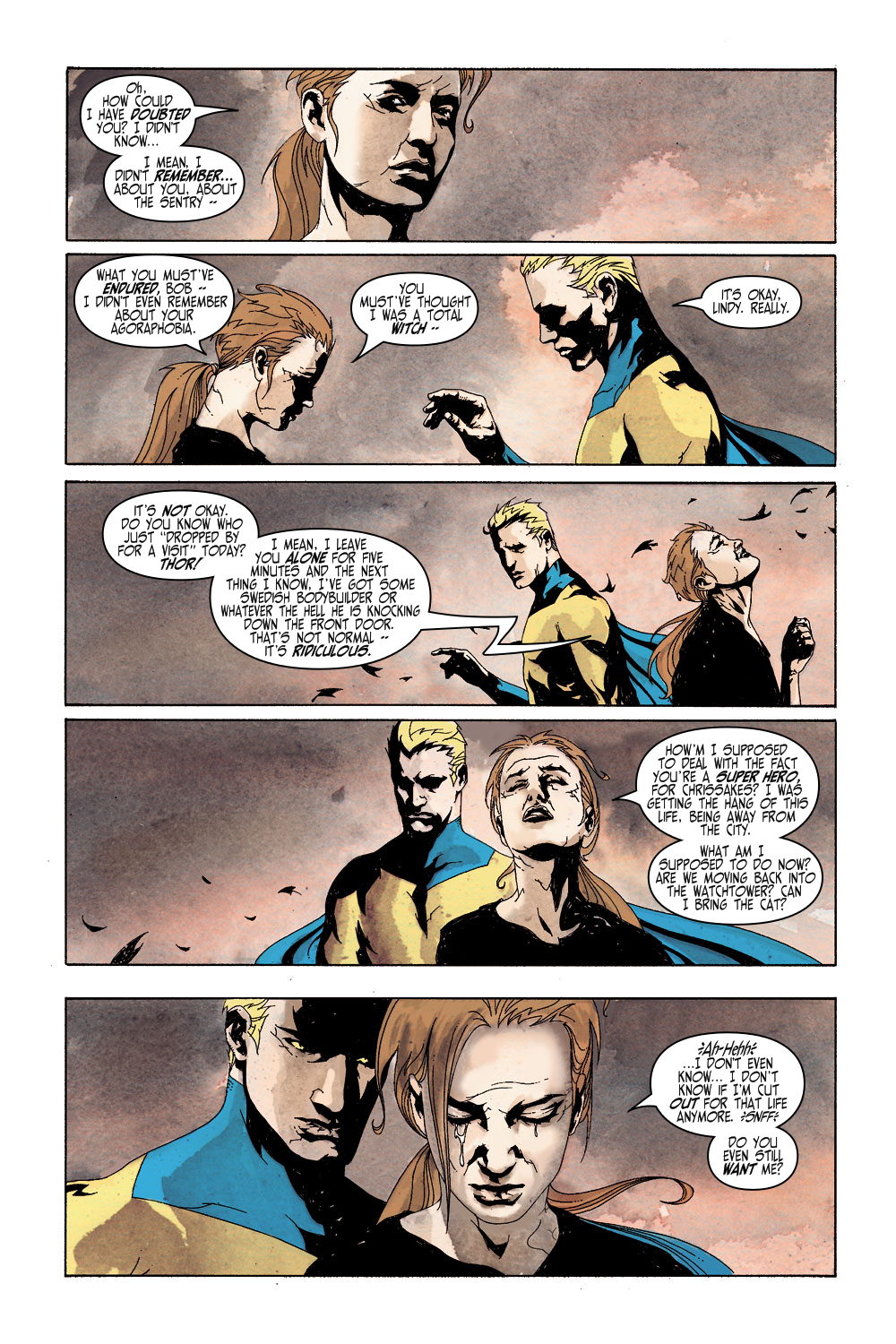 Read online Sentry (2000) comic -  Issue #5 - 12