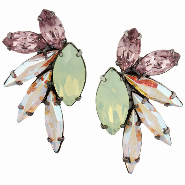 wow earrings by cool American jewellery designer Elizabeth Cole