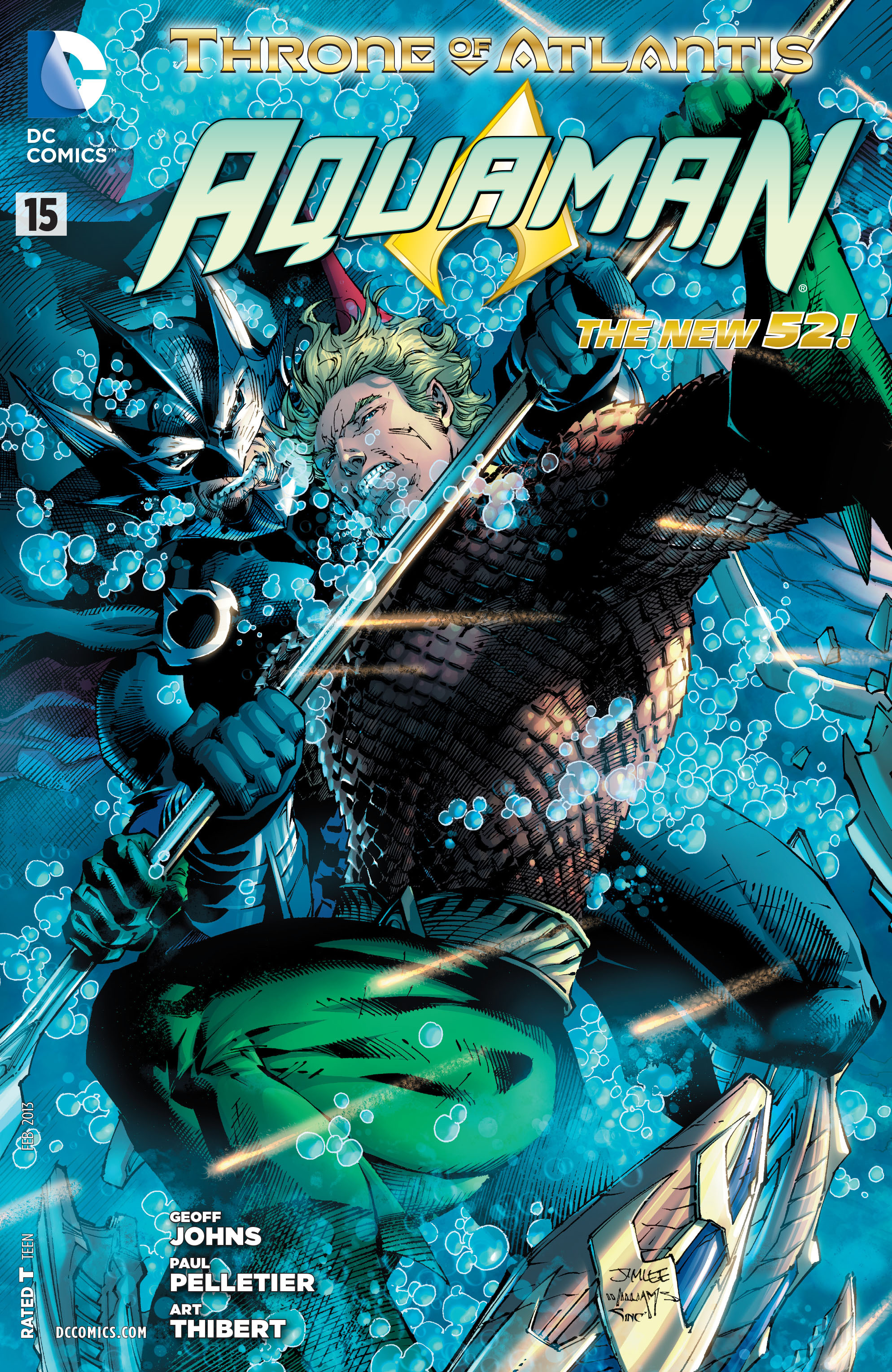 Read online Aquaman (2011) comic -  Issue #15 - 24