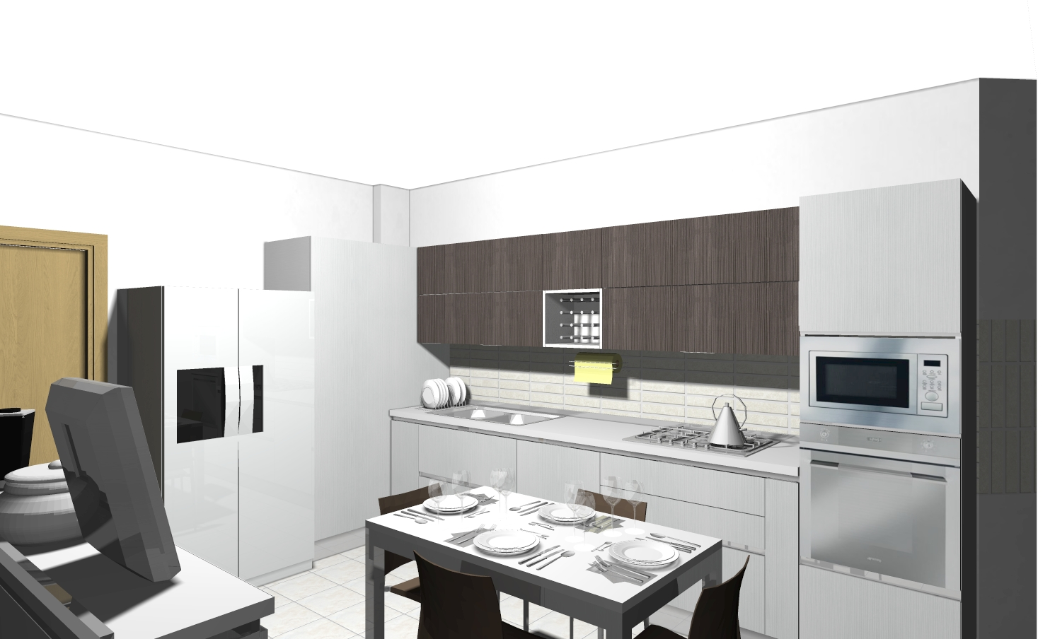 Pattumiera Cucina Veneta | Cucina Veneta Milano Le Migliori Idee Di ...