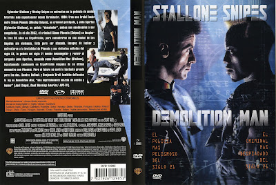 Carátula, cover, dvd: Demolition Man | 1993