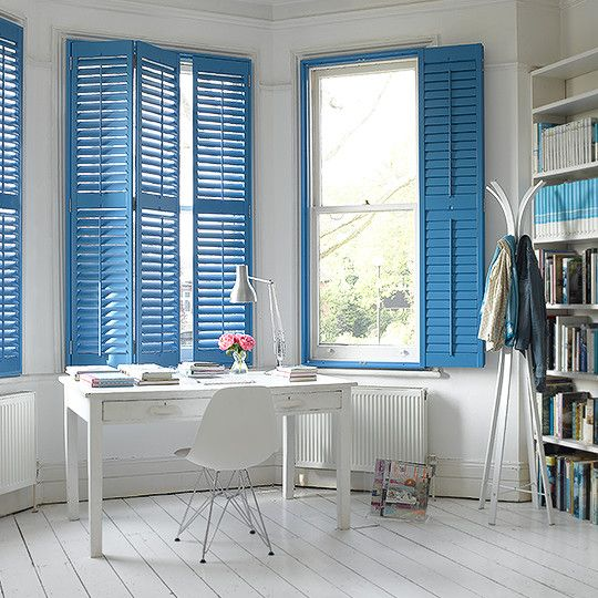 moroccan blue shutters