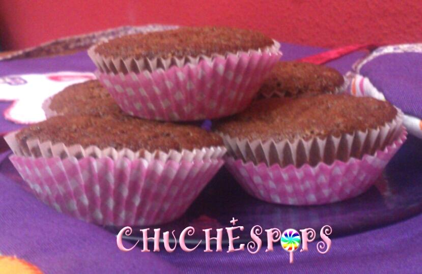 Muffins Oreo tres chocolates