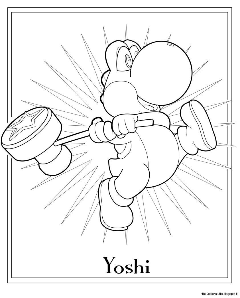 Mario Disegno Da Colorare N3