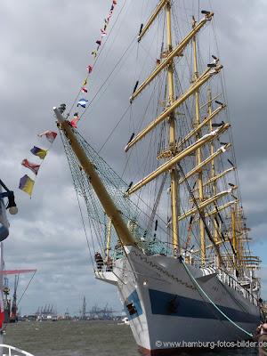 Segelschiffe, Windjammer, MIR, Frontansicht, Bug, Mast
