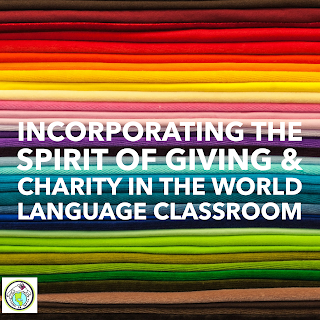 Charity in the World Language Classroom