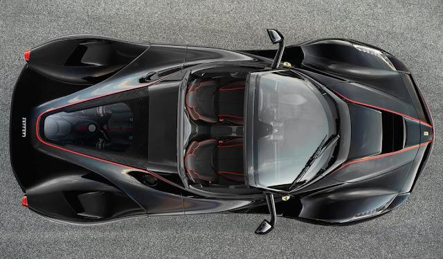 「ラ フェラーリ」のオープンバージョンの画像を公開!詳細はパリモーターショーで発表へ。