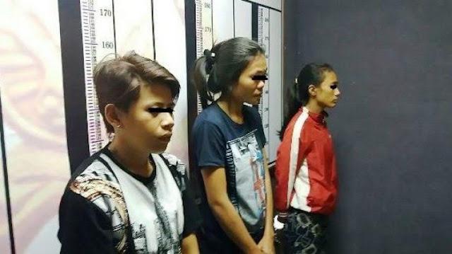 Dua Pelajar dan Seorang SPG Ditangkap Polisi Usai Pesta Sabu di Hotel