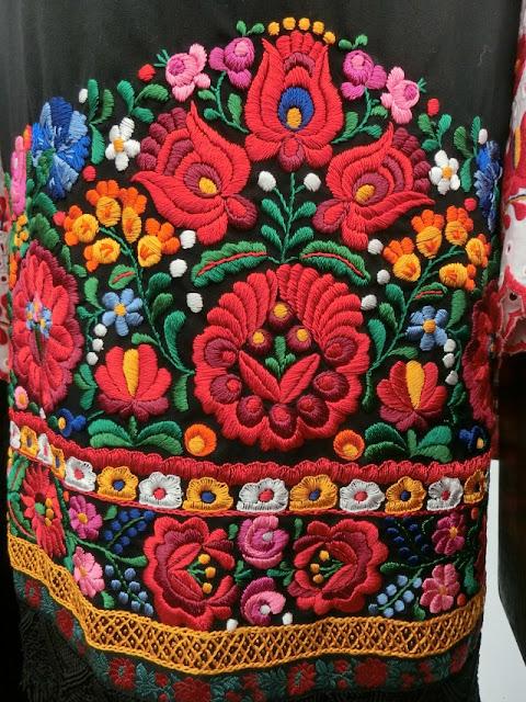 венгерская вышивка, вышивка матьо, калочаи, фестиваль в Будапеште