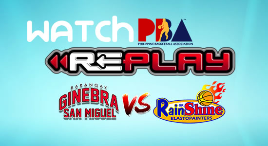Video List: Ginebra vs ROS game replay March 7, 2018 PBA Philippine Cup