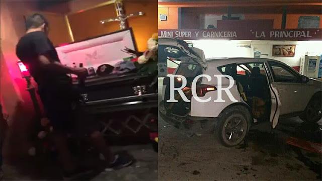 VIDEO: Cantando narcocorridos despiden a uno de los sicarios del CDG muertos en enfrentamiento en Reynosa