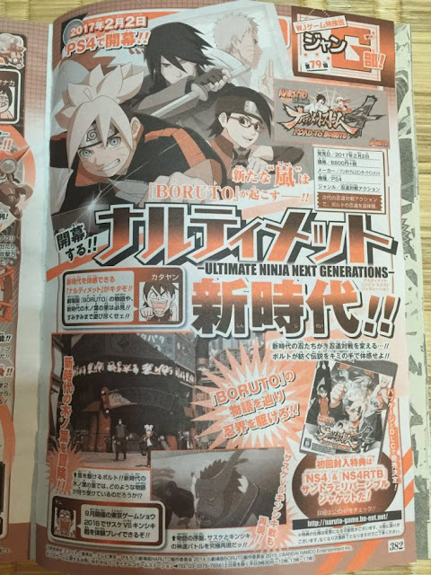 Anunciado Naruto Ultimate Ninja Storm 4: Road to Boruto para PS4