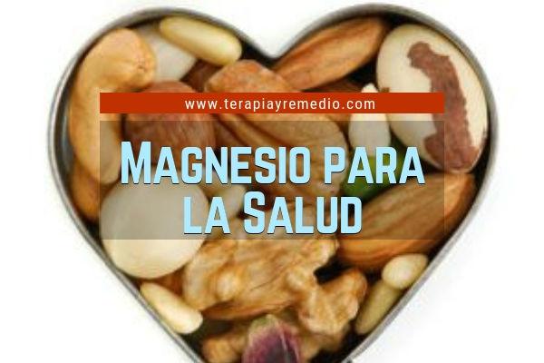 El Magnesio sirve en la salud para la producción de las hormonas tiroideas y las hormonas sexuales