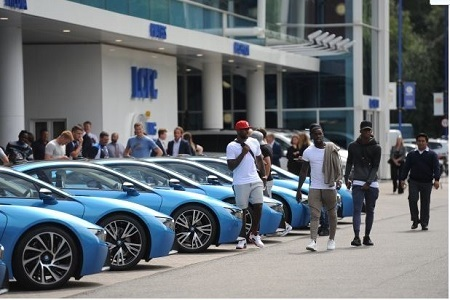 EPL Title Win: Leicester City's Owner Buys N50m BMW for Every Player (Photos)