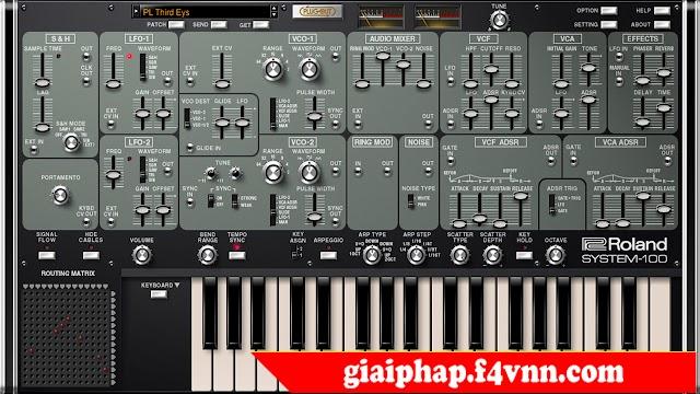 Roland VS Instruments Bundle 5.7 - Phần mềm sản xuất nhạc chuyên nghiệp 2018