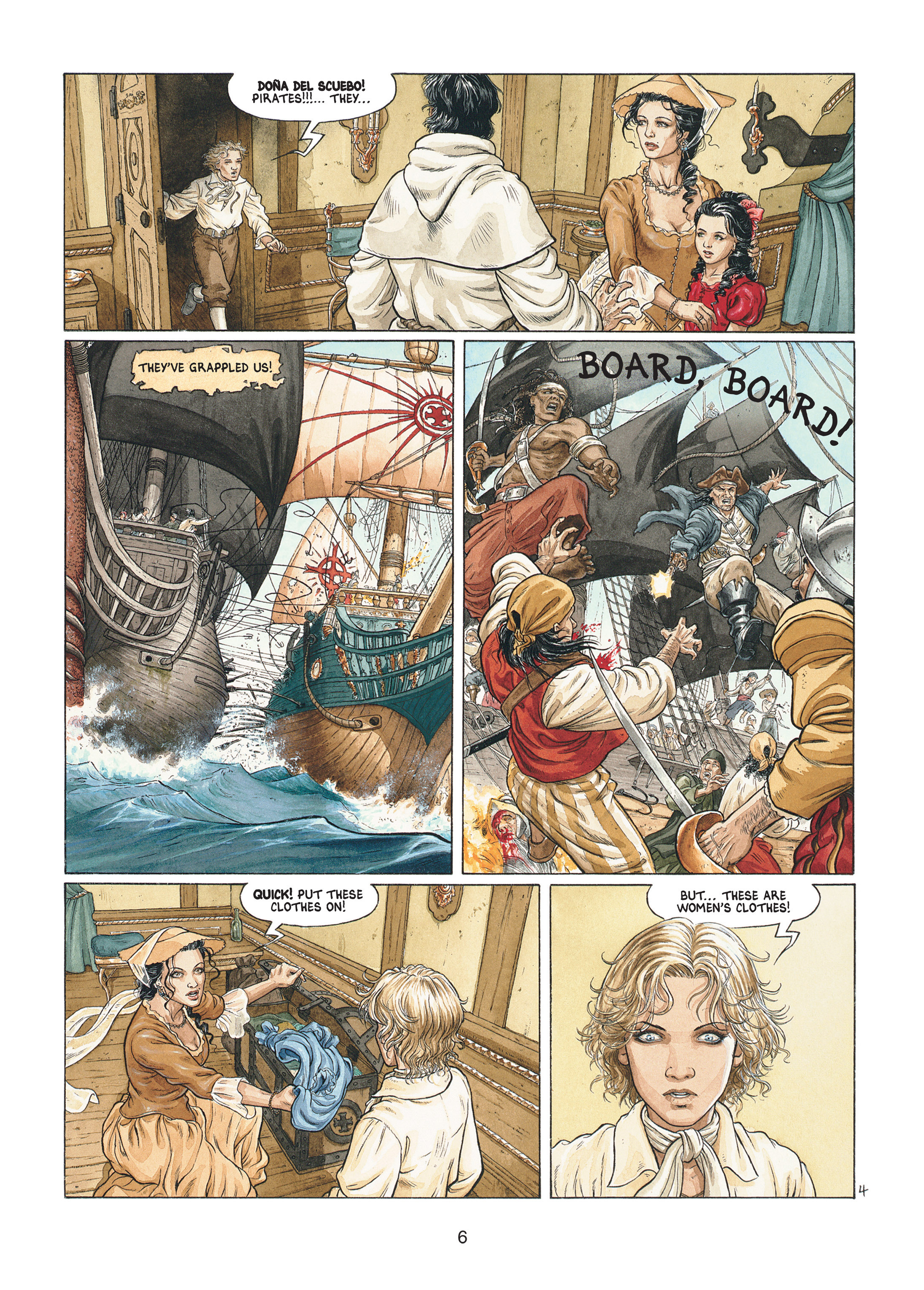 Read online Barracuda comic -  Issue #1 - 6