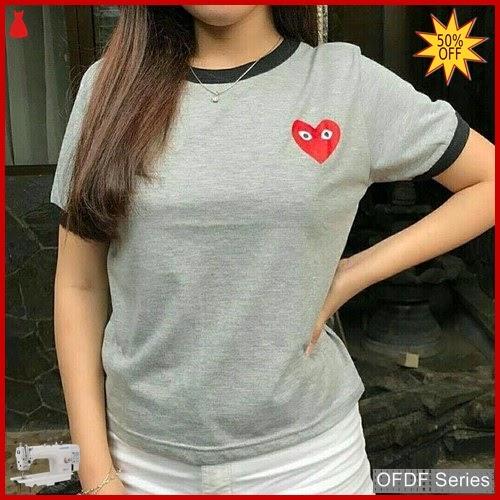 OFDF215 Atasan Kaos Lovi Gili Tee Tshirt BMGShop