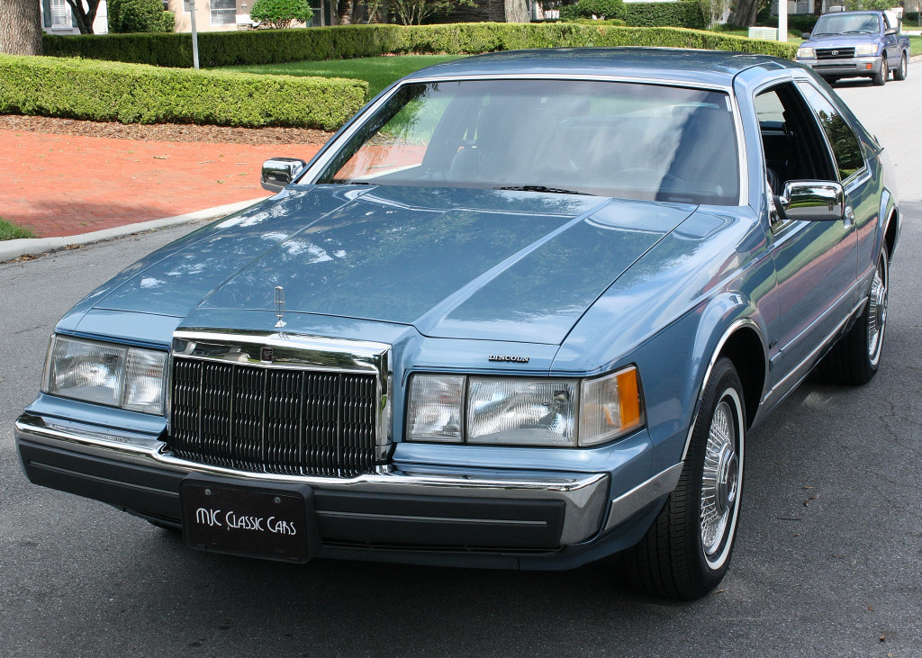 Crawling From The Wreckage 1988 Lincoln Continental Mark