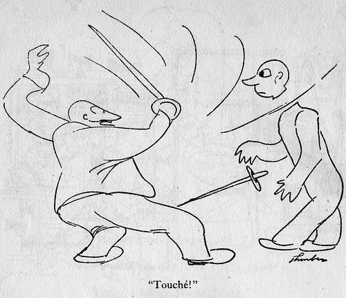 i before e: James Thurber