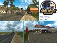 Mod Map Jateng (Jawa Tengah) By Donal For Euro Truck Simulator 2 v1.26