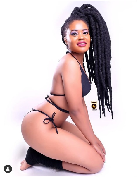 2 - Meet slay queen BECKY who's hired by top Kenyan artists when they want to display NAKED women in their videos (PHOTOs)