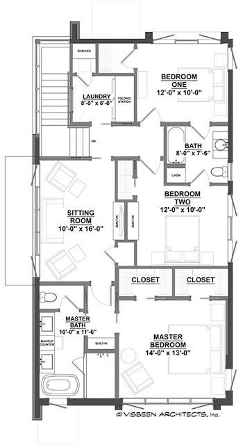 แบบบ้านสไตล์ Contemporary 2 ชั้น