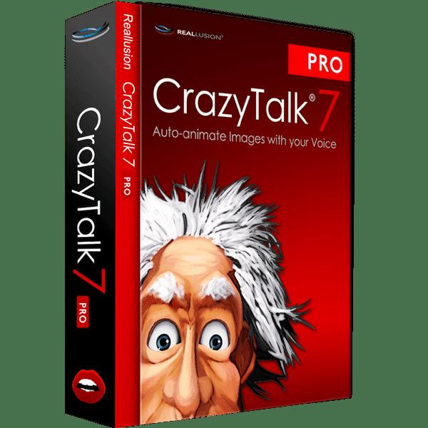 Download Reallusion - CrazyTalk 7 Pro Full version + Bonus Content
