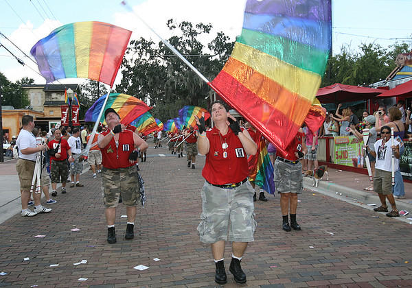 from Emiliano gay day parade in disney world