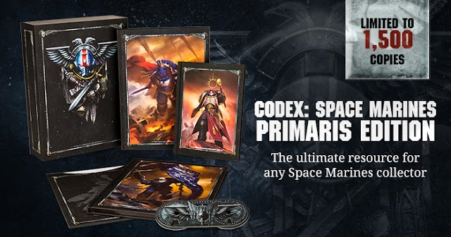 Space Marine Codex, Primaris Marines, +Collectors Editions