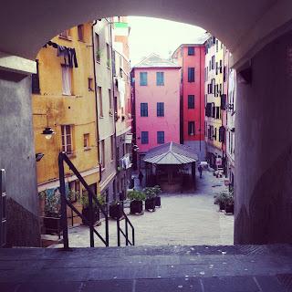 Passeggiata a Genova