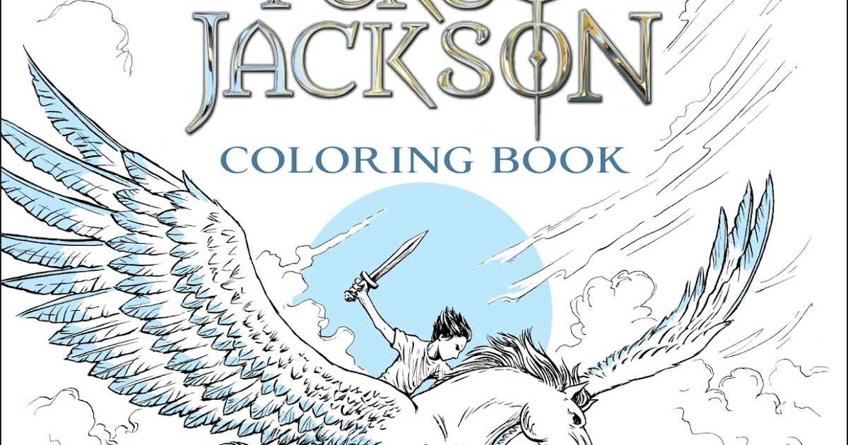 Stuck In Books: The Percy Jackson Coloring Book ~ Feature ...