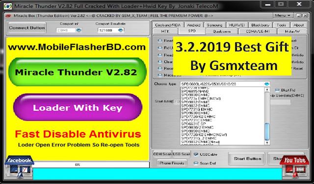 Miracle Thunder V2.82 Full Cracked With Loader+Hwid Key By MobileFlasherBD