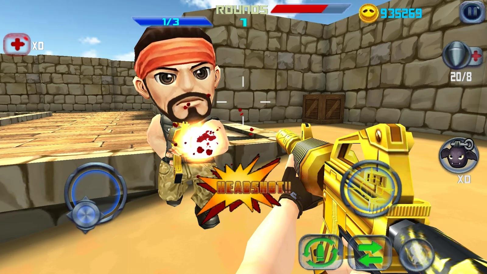 download game fractal combat x mod apk