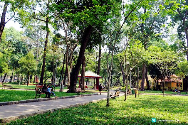 bowdywanders.com Singapore Travel Blog Philippines Photo :: Vietnam :: Tao Dan Park: This City Green Park is Ho Chi Minh's Premier Hang Out Park