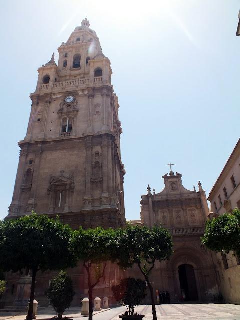 la Catedral de Murcia es imprescindible