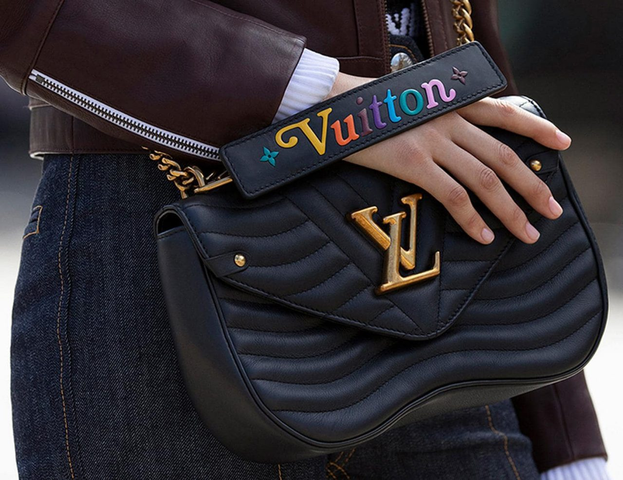 e68c16be57cd Introducing the Louis Vuitton New Wave Chain Bag from Fall Winter 2018  Collection. The designer couldn t resist the trend of quilts.