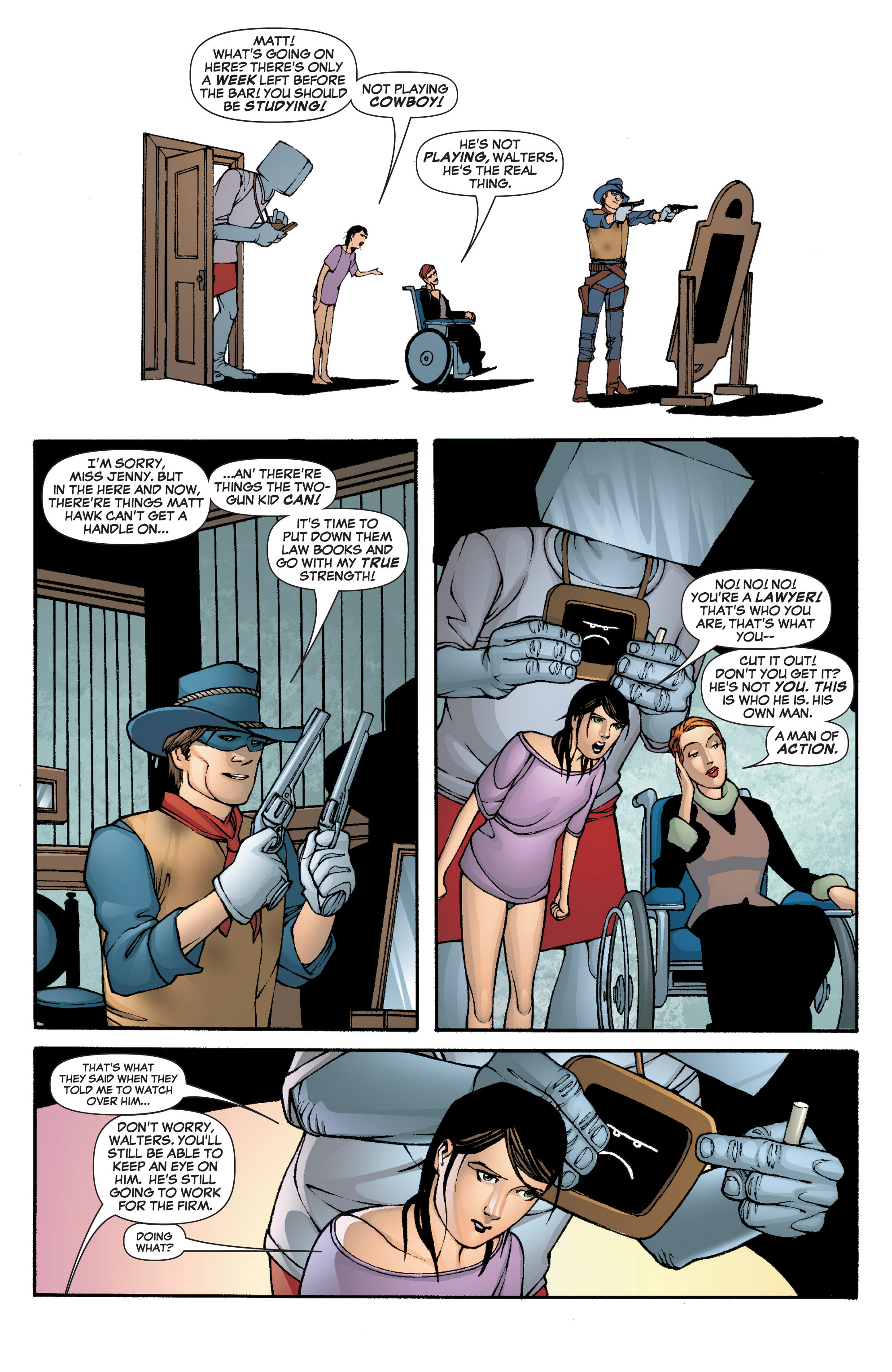 Read online She-Hulk (2005) comic -  Issue #5 - 19