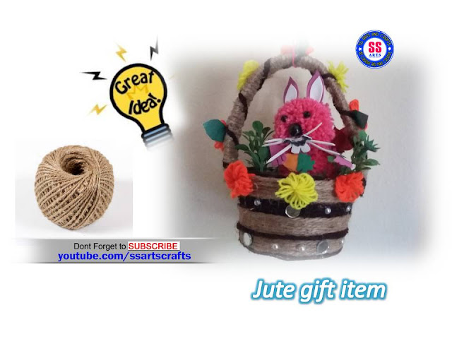 Here is jute crafts,how to make jute baskets,how to make jute flower vase,how to make jute bags,how to make jute flowers for home decoration ideas,how to make jute lamp,how to make jute and wool flower vase,how to make jute hanging basket,how to make jute fruits basket,how to make jute easter basket